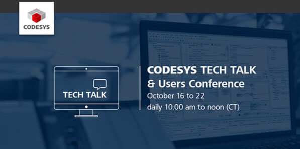 CODESYS Tech Talk & Users Conference